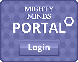 portal button purple